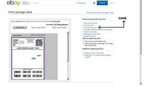 printable labels ebay solved how can i print a packing slip the ebay community