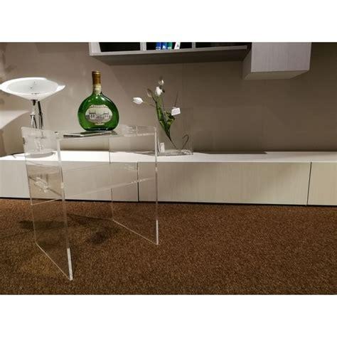 comodino trasparente tavolini plexiglass