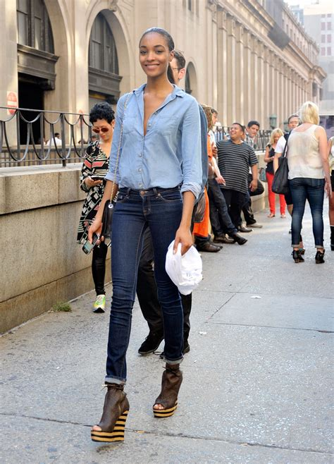 St Steyle denim blue on blue is back with a vengeance on the streets of new york nolita hearts nyc