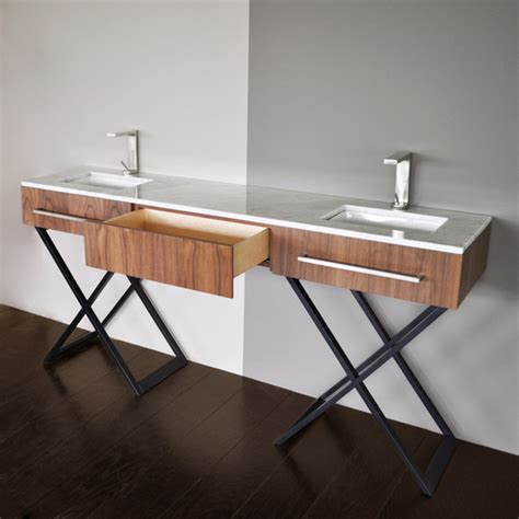 bathroom cabinets for bowl sinks lacava moda double bowl vanity modern bathroom