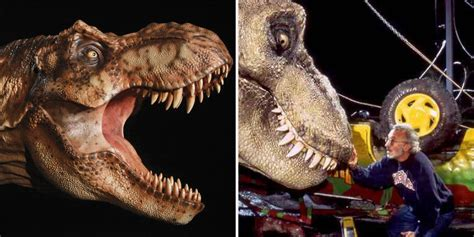 jurassic park car trex things you never knew about the t rex screen rant