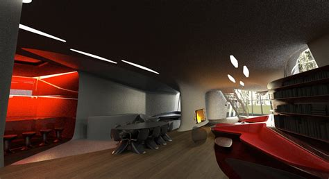 space house space age interior interior design ideas