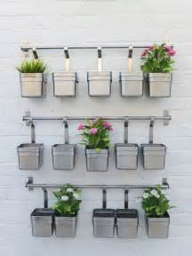 best 25 outdoor wall planters ideas on