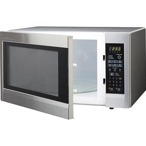 sharp carousel 2 2 cu ft 1200w countertop microwave oven