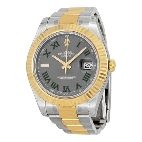 Rolex Datejust Automatic 1 rolex datejust ii grey stainless steel and 18k yellow gold rolex oyster automatic s