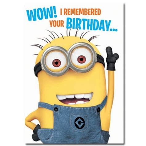 Minion Happy Birthday Wishes Happy Birthday Wishes With Minions Page 2