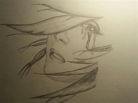 imagenes de tristeza a lapiz dibujo a lapiz mujer triste y dem 225 s taringa