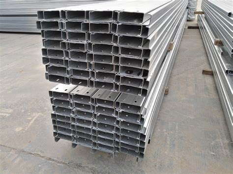 c section purlins price hot dipped galvanized c section steel purlin factory price