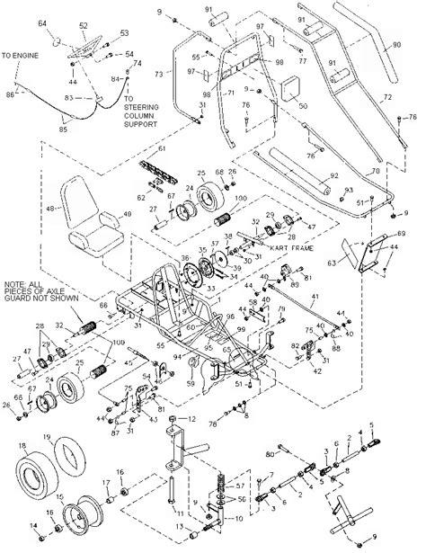 dingo diagram pics for gt manco 5hp go kart