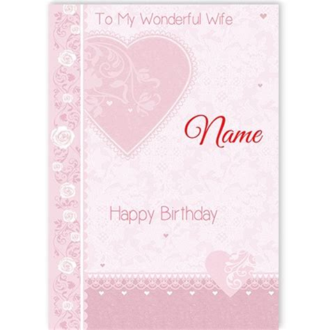 wife birthday spacehippo cards