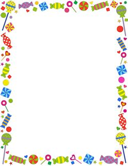 free halloween borders clip art page and vector graphics 5