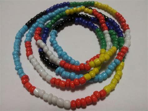 santeria bead necklaces oshumare eleke santeria necklaces orishas santeria
