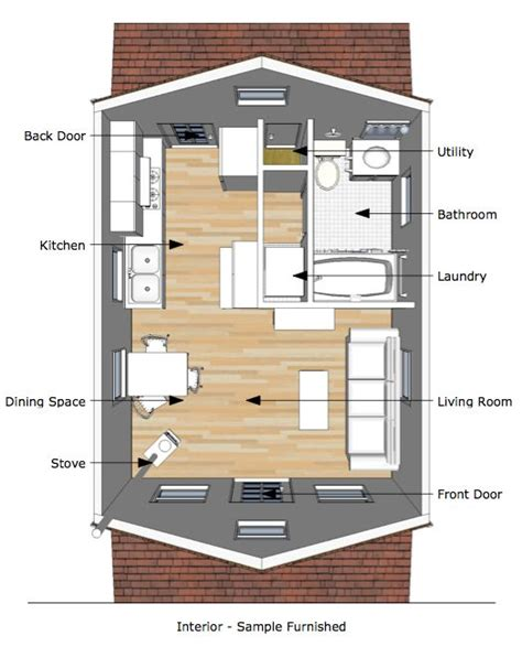 tiny house interior plans tumbleweed tiny house interior the pioneer s cabin 16 215 20 tiny house plans