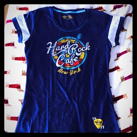 design t shirt hard rock cafe 72 off hard rock cafe tops hard rock cafe new york t