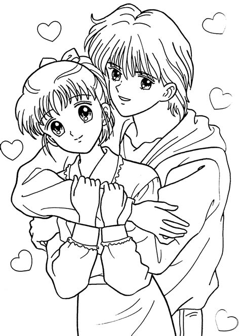 Girl Cartoon Characters Coloring Pages Az Coloring Pages Coloring Pages Of Anime Boys Free