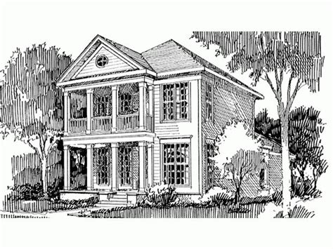 eplans greek revival house plan no square inch unengaged 17 best images about greek revival home ideas on pinterest