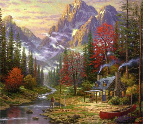 awesome home garden painting share on facebook imagefullycom images paysage en peinture page 25