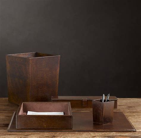 Restoration Hardware Leather Desk Pad by 15 Must See Desk Accessories Pins Office Desk