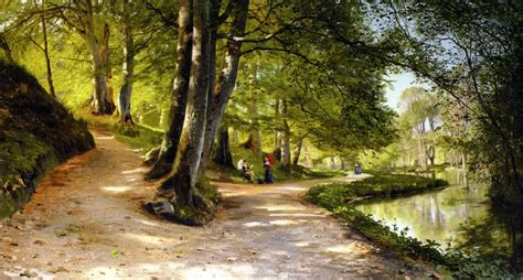 landscape painters landscape painting by artist peder monsted 1859