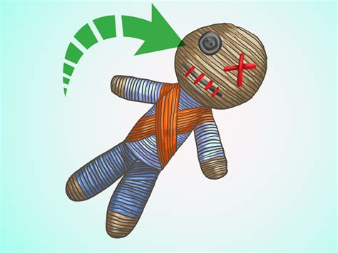 How To Make A Paper Voodoo Doll - how to make a voodoo doll with pictures wikihow