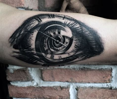 tattoo inspiration time eye tattoos for men ideas and inspiration for guys