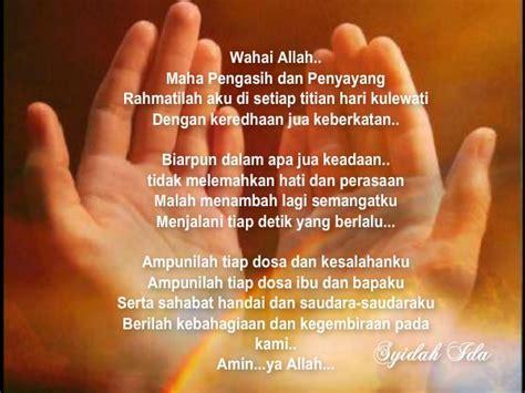 sepanjang jalan kehidupan doa pagi jumaat  doa buat