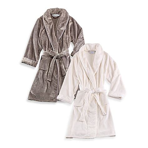 bed bath and beyond robes wamsutta 174 plush robe bed bath beyond