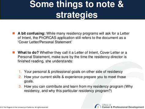 Letter Of Intent Ucsf ucsf ocpd preparing strong pharmacy residency application