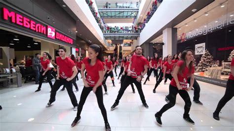 tutorial dance flash mob christmas flashmob by vs dance sofia ring mall youtube