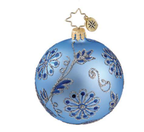 christopher radko christmas ornament baroque tapestry mini