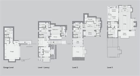 hillside floor plans hillside floor plans 28 images h187 custom country hillside house plans construction