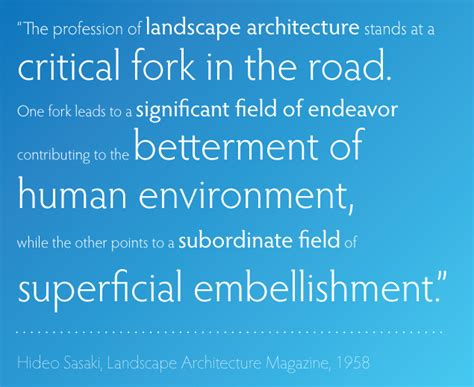 quotes about landscape quotes about landscape architecture quotesgram