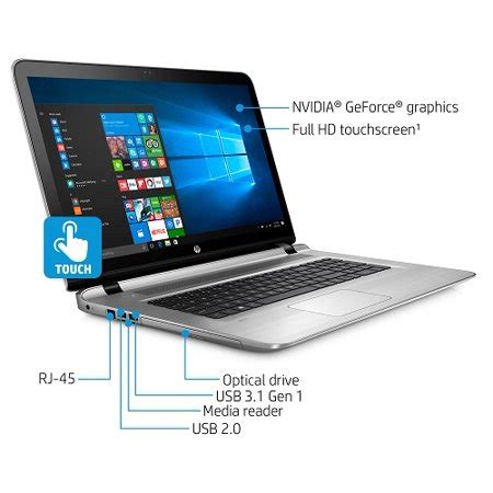refurbished hp envy notebook 17 s143cl touchscreen envy 17