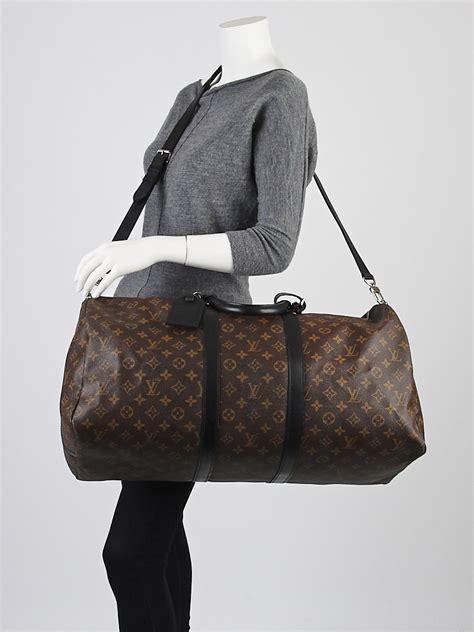 Louis Vouitton Keepall Speedy Bags louis vuitton monogram macassar keepall bandouliere 55 bag