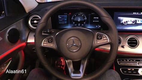 2017 e class interior video 2017 mercedes benz e class interior youtube