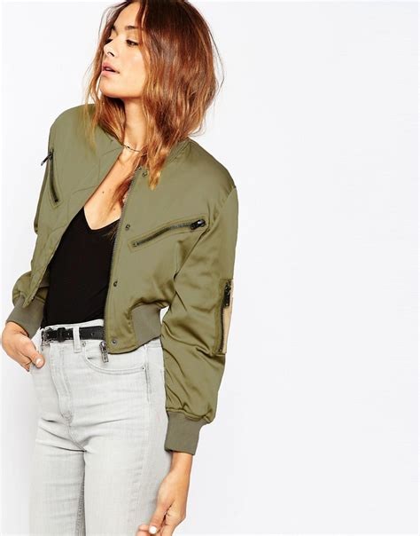 Trend Alert Cropped Jackets by Trend Alert Bomber Jackets So Sue Me