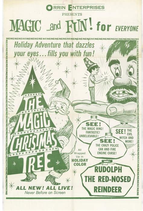 the magic christmas tree movie posters from movie poster shop
