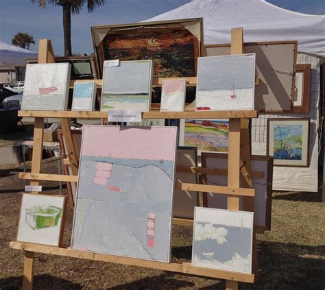 display art christine sullivan s art blog wait a minute my first outdoor art show
