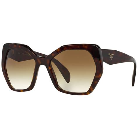 Irregular Sunglasses prada pr16rs irregular framed sunglasses at lewis
