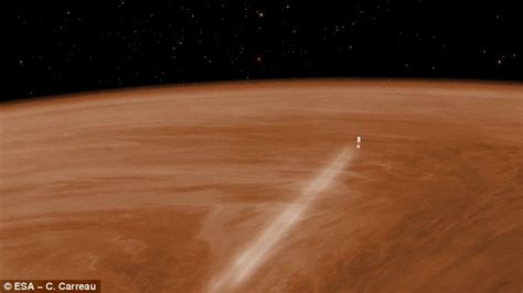 Bor Venus venus express probe reveals the planet s poles are colder