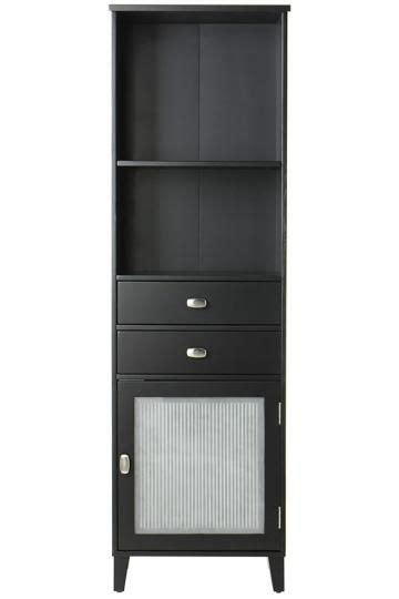 Linen Cabinets With Glass Doors Cabinets Linen Cabinet And Bathroom Cabinets On Pinterest