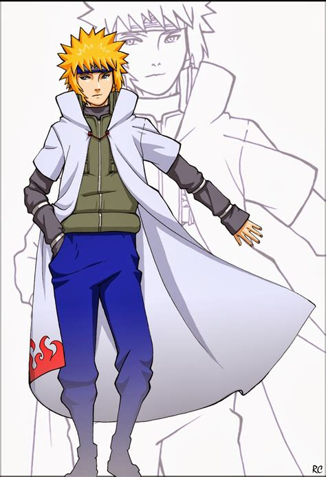 A Anime Character by Cool Anime Character Minato Yondaime