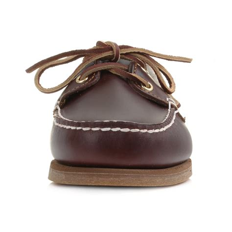 timberland women s amherst boat deck shoes womens timberland amherst root beer brown leather boat