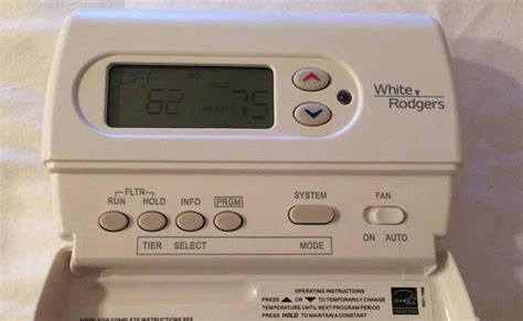 white rodgers thermostat wiring diagram 1f89 white rodgers