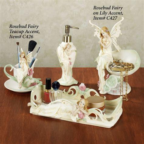 Rosebud Fairy Bath Accessories