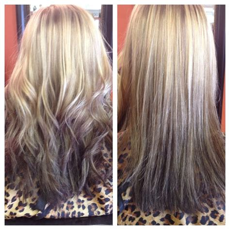 short hair w reverse ombre hair 17 best images about with my own two hands and some