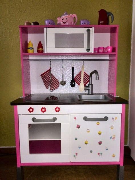 ikea hack little lessy ikea duktig hack play kitchen for my little girl made