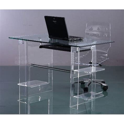 acrylic computer desk buy acrylic computer desk clear furniture computer desk