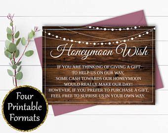 Wedding Registry House Fund by Honeymoon Fund Etsy