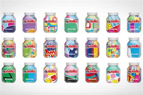 Nutella Jar Iphone All Hp nutella creates seven million jars with unique patterns print creativity